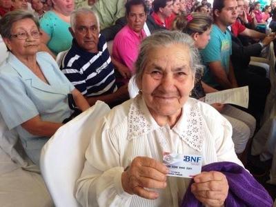 Más de 24.000 adultos mayores fueron incorporados al programa de Pensión Alimentaria