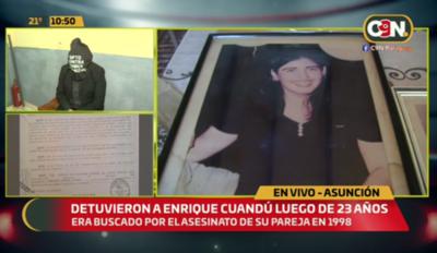 Detuvieron a Enrique Candú, acusado de feminicidio, luego de 23 años