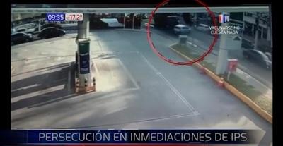 """""""Tortolero"""" logra huir de la policía tras persecución en zona del IPS"""