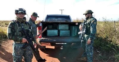 La Nación / Incautan importante cargamento de cocaína y detienen a dos personas en Capitán Bado