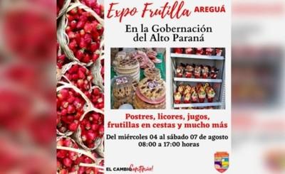 CDE: Expositores de Areguá ofrecen sus mejores productos