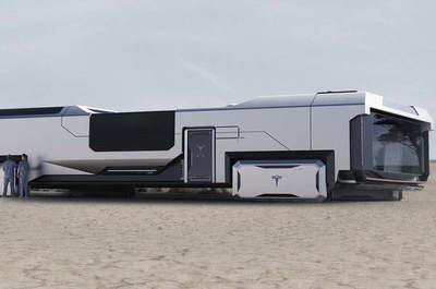 ¡Fantástico! Mirá el campamento que Elon Musk quiere instalar en Marte