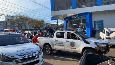 CDE: persecución policial deja un fallecido por bala perdida