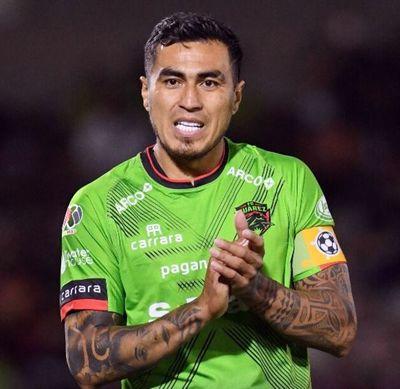 El paraguayo Darío Lezcano del Juárez FC sufre rotura del tendón de Aquiles