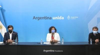 Argentina autoriza combinación de AstraZeneca y Moderna con la Sputnik V