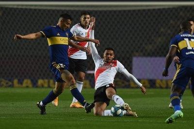 Con David Martínez, River cayó en los penales ante Boca en la Copa Argentina