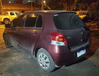 """Recuperan vehículo robado en asalto a conductora de Bolt y creen que estaba siendo """"enfriado"""""""