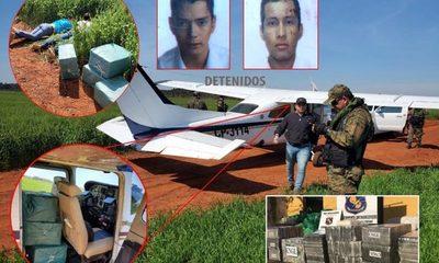 Incautan narco avión con 221 kilos de cocaína en colonia Nueva Fortuna – Diario TNPRESS