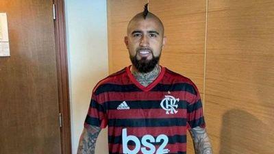 Flamengo se reforzaría con Arturo Vidal