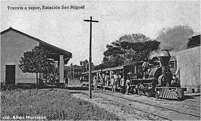 Peripecias  asuncenas en torno  al San Miguel