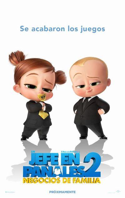 Un jefe en pañales: Negocios de familia (3D y 2D)