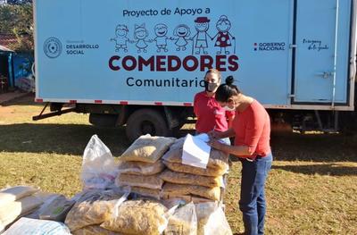 MDS continúa entregando alimentos para ollas populares