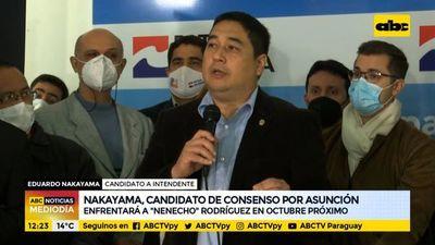 Nakayama suma apoyo del Partido de la A
