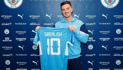 Manchester City anuncia el fichaje de Jack Grealish por un monto récord