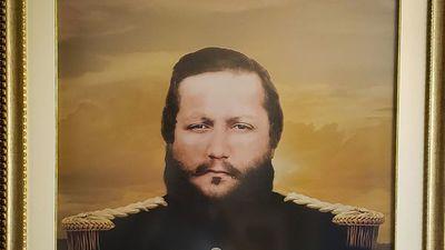 Subastarán una imagen del mariscal López reconstruida digitalmente