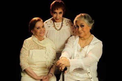 """""""Verbo"""", con tres figuras eminentes del teatro paraguayo, aparece en escena"""