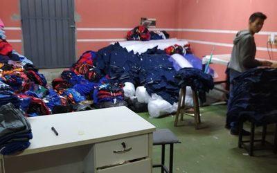 Incautan más de mil prendas falsificadas en Ciudad del Este – Diario TNPRESS