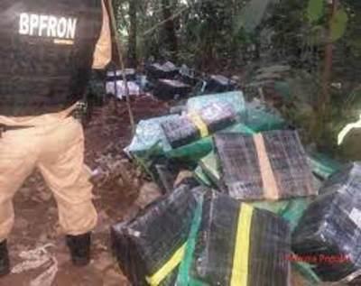 Requisan mercaderías en puerto clandestino de Foz de Yguazú