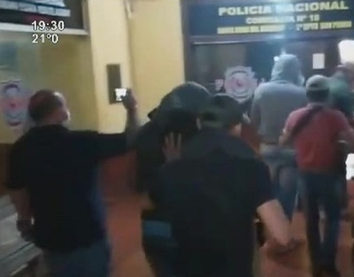 Santa Rosa del Aguaray: Juan Olmedo detenido por auto secuestro
