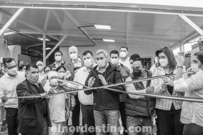Gobierno Nacional inauguró pabellón de contingencia en el Hospital Regional de Concepción que cuenta con veintidós camas