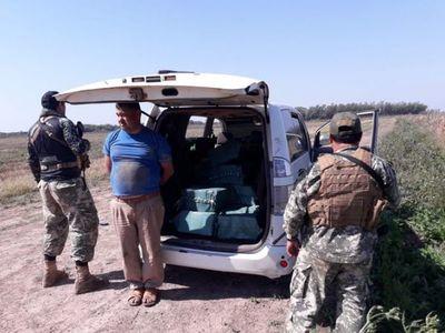 Senad incauta cargamento de cocaína en una pista clandestina de San Cosme Damián