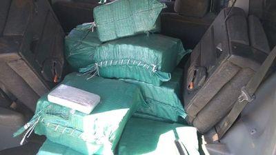 Incautan cargamento de cocaína en pista clandestina en San Cosme y Damián