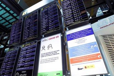 España prorrogó la orden de cuarentena para viajeros de Argentina, Bolivia, Brasil y Colombia