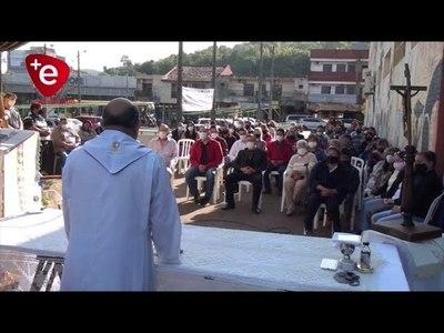 HOMENAJE A SAN CAYETANO EN LA FERIA MUNICIPAL DE ENCARNACIÓN