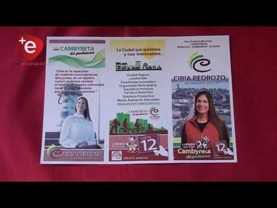 CIRIA PEDROZO LANZARÁ SU CAMPAÑA ESTE 10 DE AGOSTO