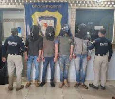 Detenidos por simulación de un secuestro declaran en fiscalía