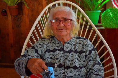 Antigua modista fassardeña celebró 100 años de vida