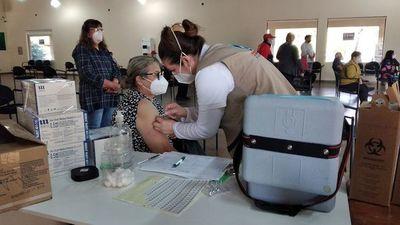 Continúa inmunización antiCOVID en Ayolas