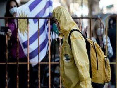 Uruguay registró su primer día sin muertes por COVID-19 en lo que va de año