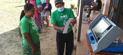 TSJE realizó jornadas de documentación y divulgación del voto electrónico en comunidades indígenas