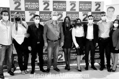 Establecidas y reconocidas las nuevas autoridades de la Juventud Liberal Radical Auténtica de Amambay y Pedro Juan Caballero