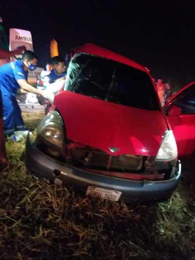 Serie de accidentes dejan varios heridos y cuantiosos daños durante el fin de semana