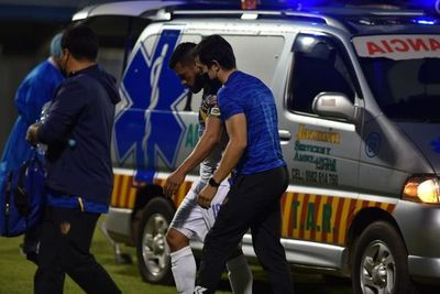 Miguel Samudio sufrió un traumatismo craneoencefálico