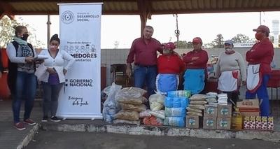MDS distribuyó alimentos en el departamento de Caaguazú