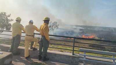 Bombero asegura que el 90% de los incendios son ocasionados por el hombre