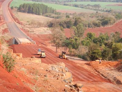 El Corredor de Exportación ya cuenta con 115 km de carretera