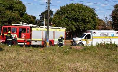 Instalarán caseta de bomberos para atender accidentes en la ruta Luque – San Ber •