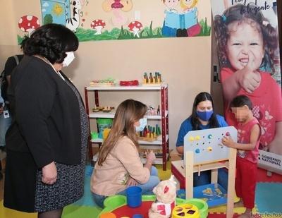 El MINNA habilita Centro de Atención a la Primera Infancia Kunu´u Renda
