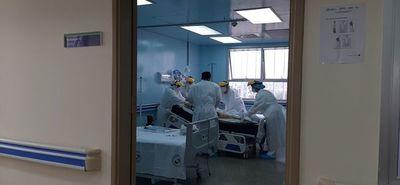 De cinco internados por Covid, dos no están vacunados