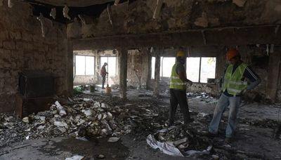 Iniciaron inspección de estructura del Cabildo afectada en incendio