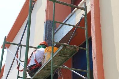 Edificio histórico del Puerto de Asunción se renueva con un toque italiano