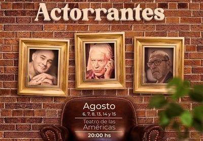 """Invitan a la obra de teatro """"Actorrantes"""""""