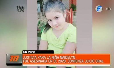 Exigen justicia para Naidelyn, niña asesinada en el 2020