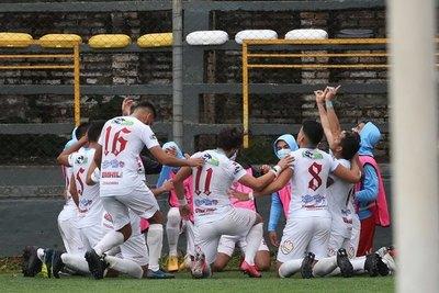 Ameliano y Resistencia avanzan en la Copa Paraguay