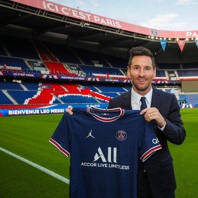 ¡Lionel Messi firma hasta el 2023 con el París Saint-Germain!