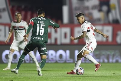 Con Gómez, Palmeiras empata ante São Paulo pero anota de visitante y saca ventaja